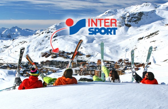 accueil-intersport-val thorens location de ski -situation